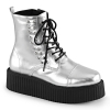 V-CREEPER 573 Silver Vegan Leather